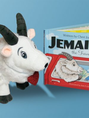 Jemaine Book+Plush+Map Gift Set