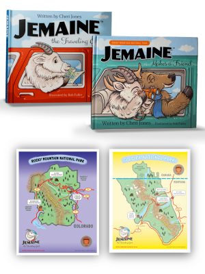 2 Books+2 FREE Maps Set