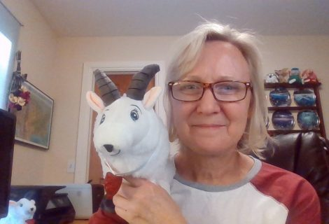 Cheri reads Jemaine the Traveling Goat on YouTube!