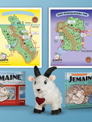 All-In Gift Set-Includes All Jemaine Books-Plush-Maps